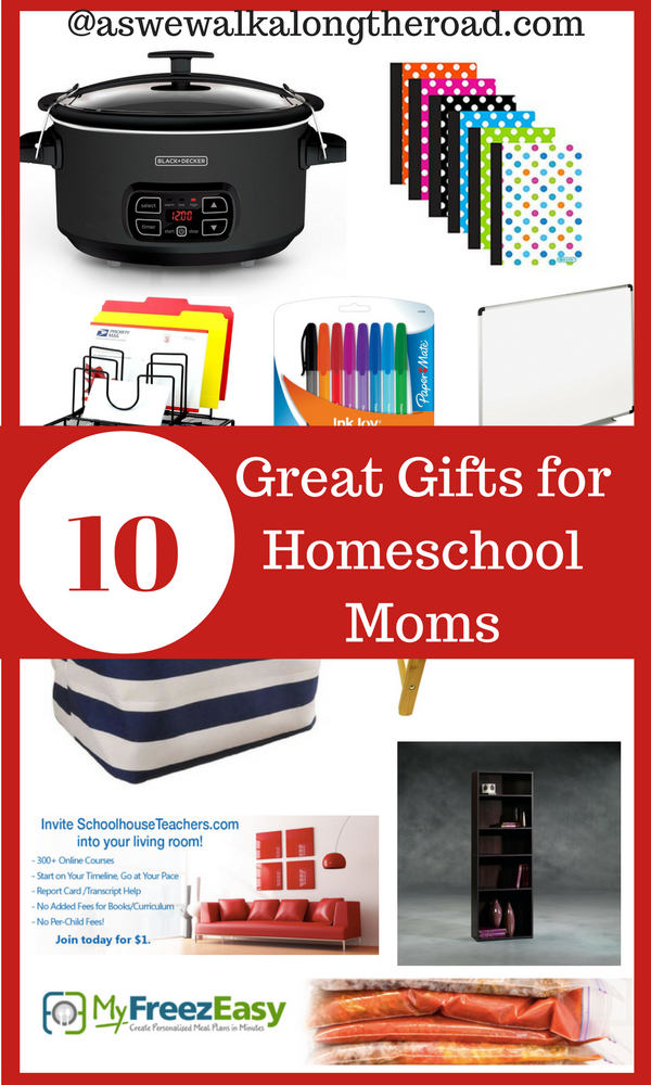 Gift ideas for homeschool moms