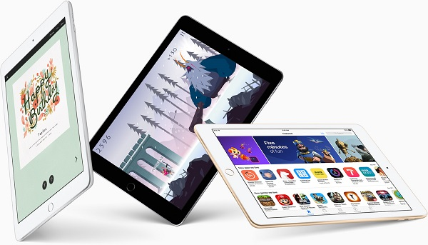Apple intros new iPad with 9.7-inch Retina display and Touch ID