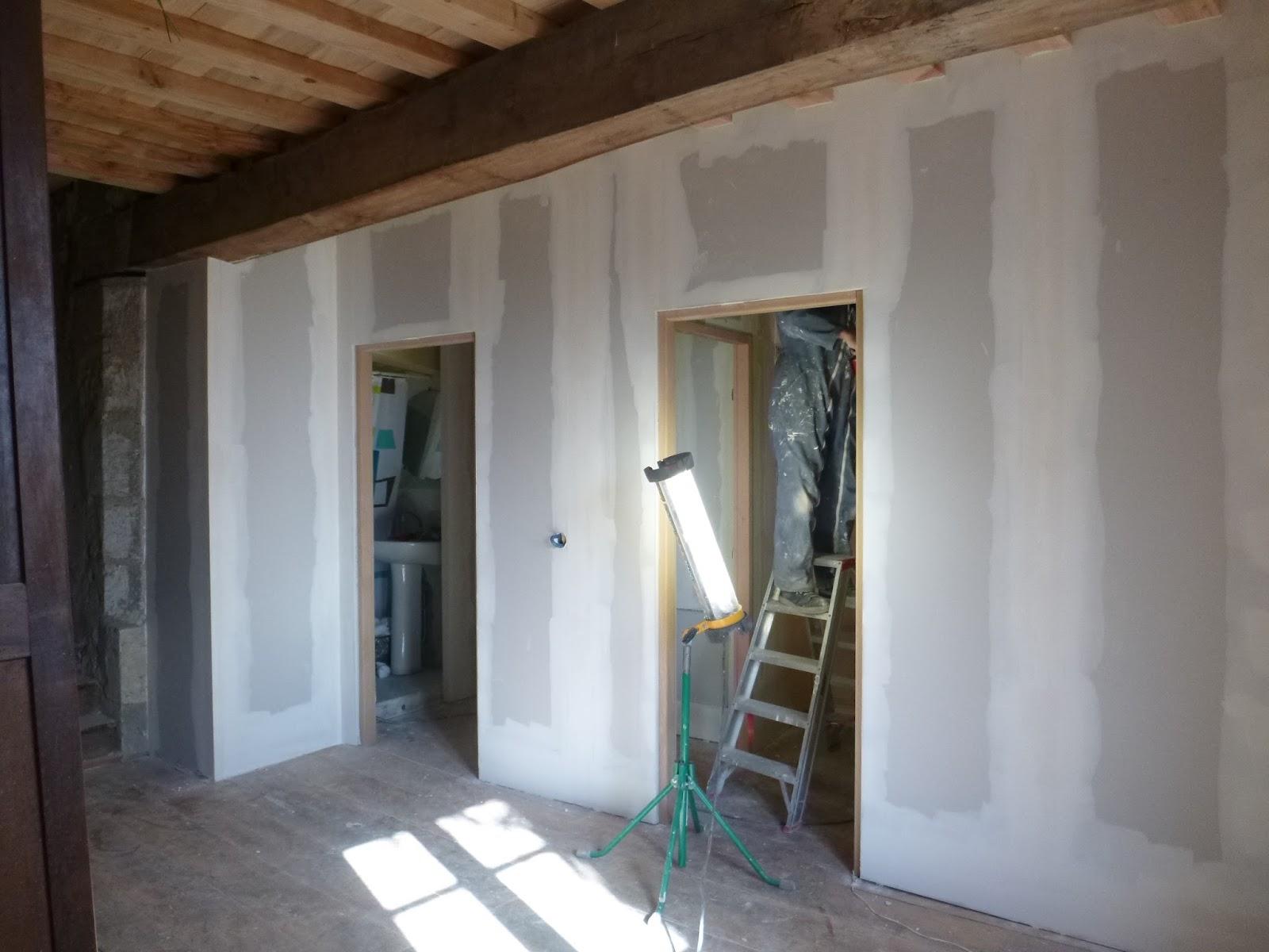 Les terrasses de bessou chantier maintenant 8 13 mars for Badigeons de chaux interieur