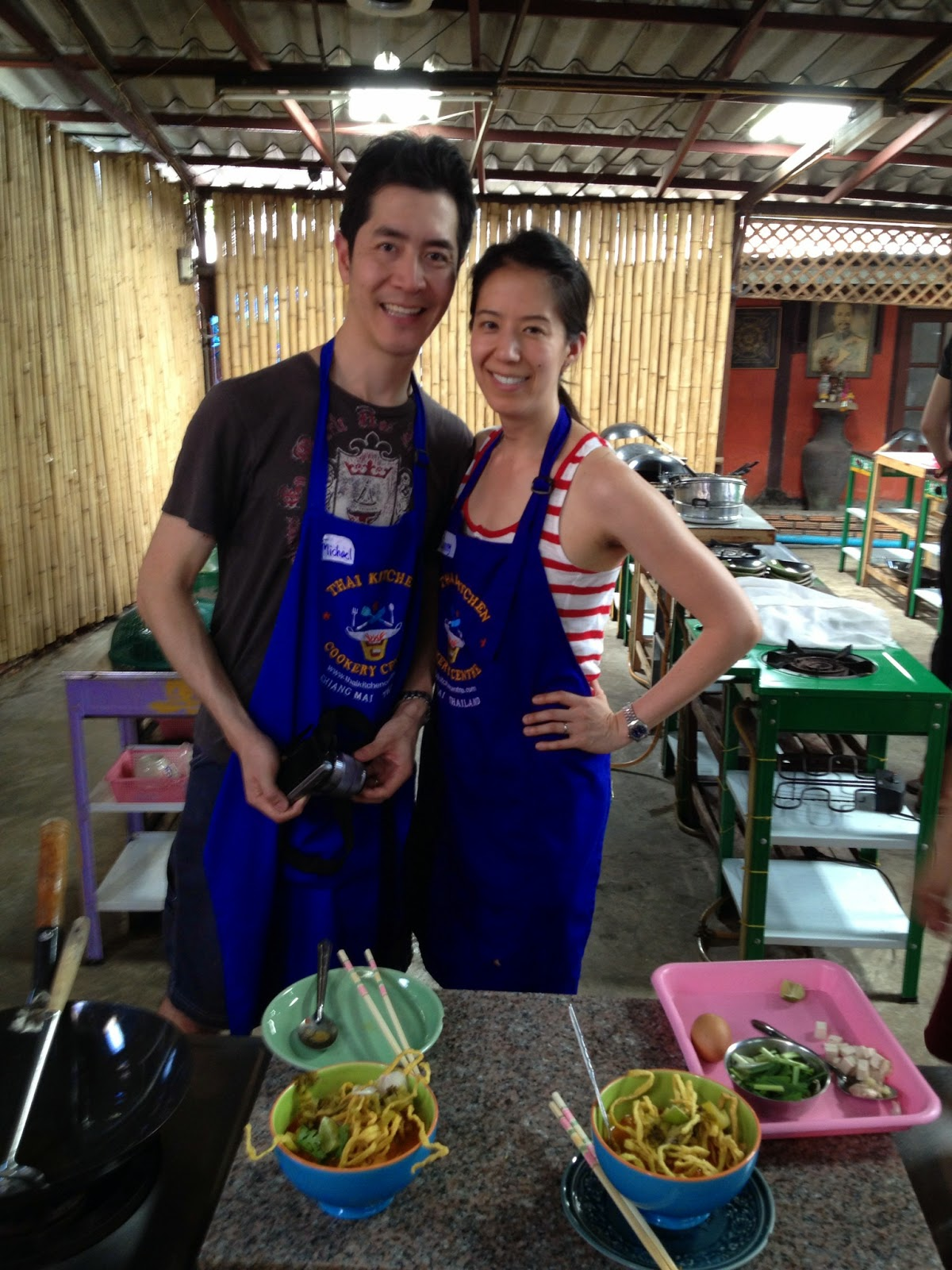 Chiang Mai - Done with cooking!