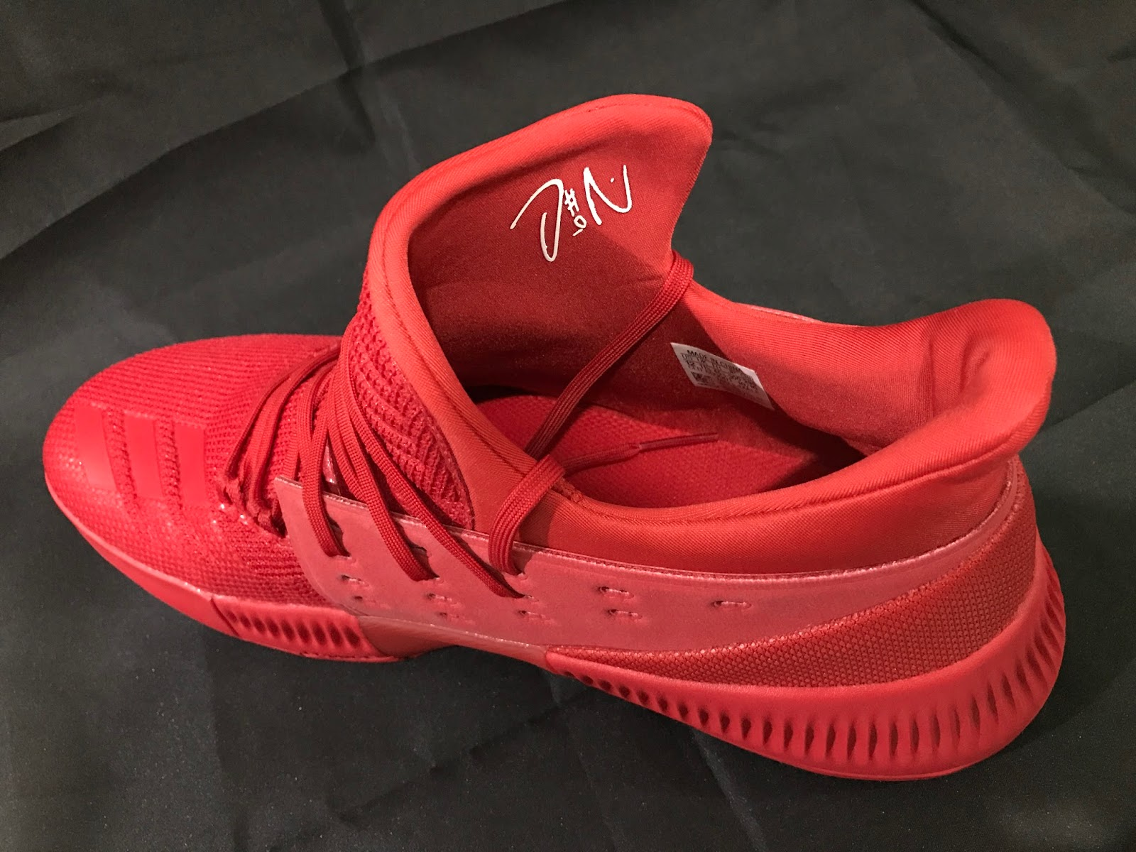 adidas continues to use a Techfit bootie on Lillard s signature line 72f36a054