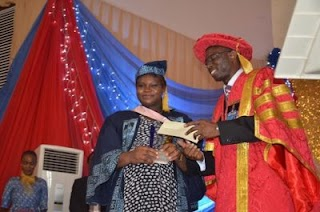 Meet LASU Best Graduating Student Who Wrote UTME Seven Times (Photo)