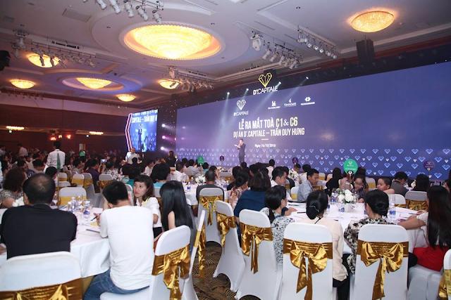 Hơn 80% căn hộ Vinhomes Trần Duy Hưng có chủ ngay sau buổi mở bán
