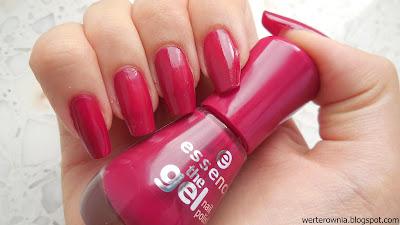essence różowy lakier