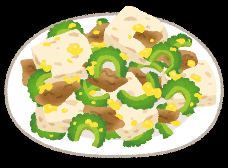 図:沖縄野菜といえばゴーヤ