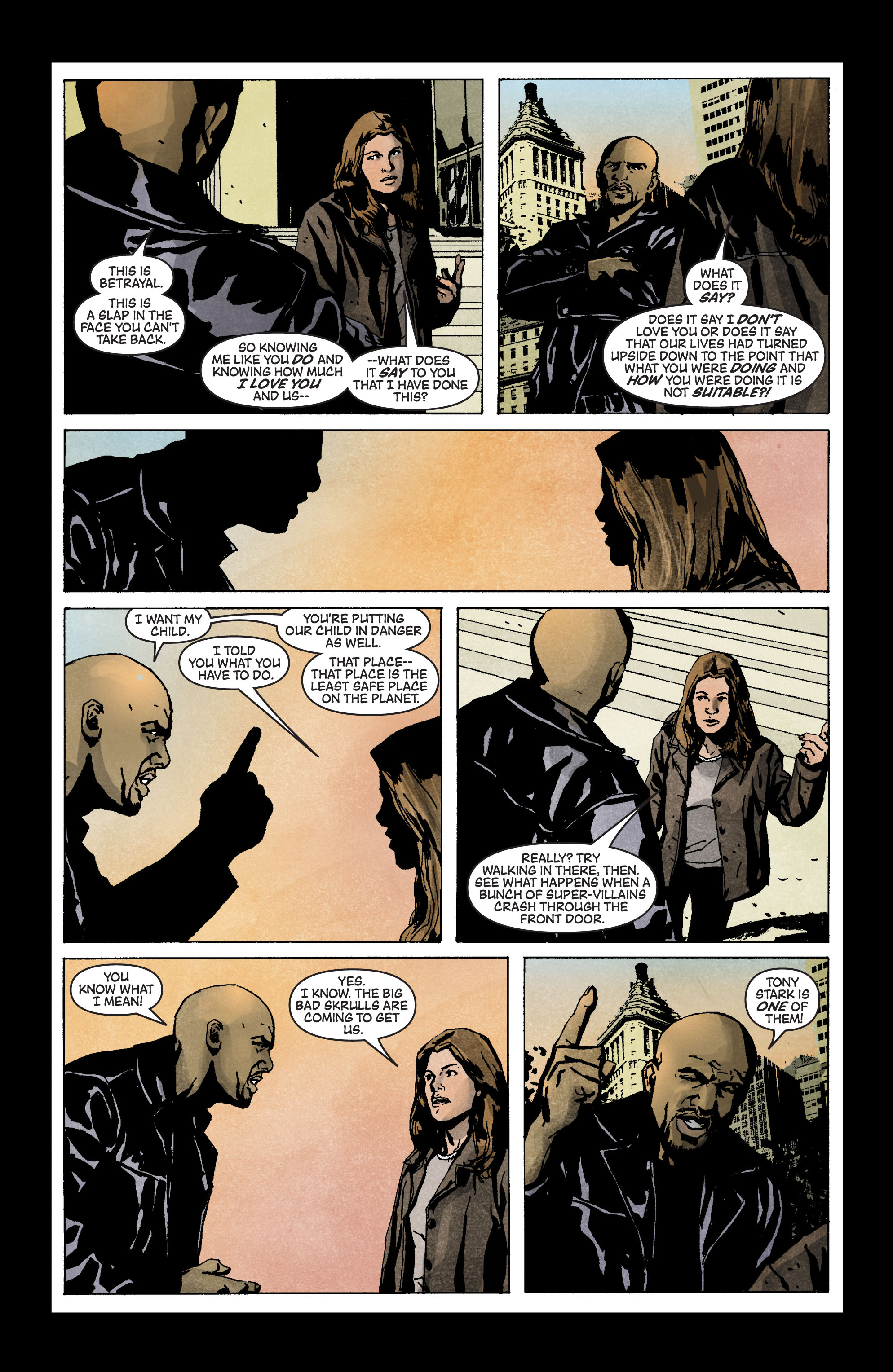 Read online Secret Invasion: The Infiltration comic -  Issue #3 - 10