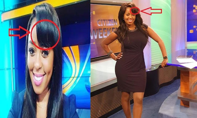 Image result for Real Shocking Reason Why Lilian Muli Covers Her Forehead With Hair