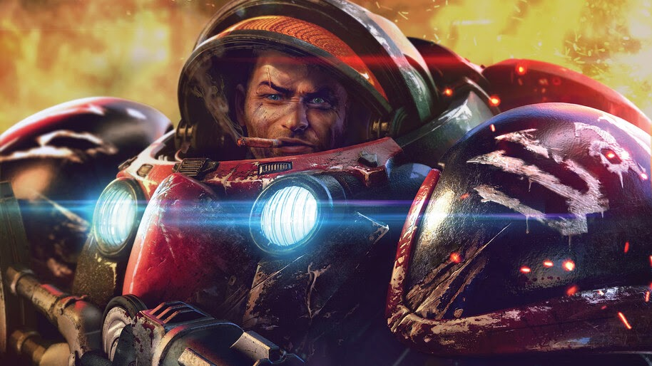 StarCraft, Terran, Sci-Fi, Soldier, 4K, #4.1942