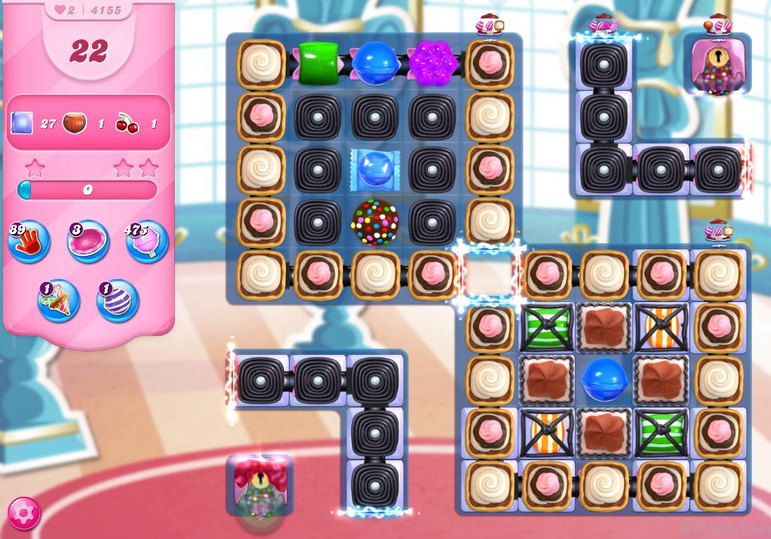 Candy Crush Saga level 4155