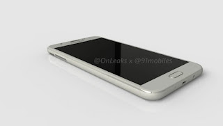 Samsung Galaxy J7 (2017) renders leaked