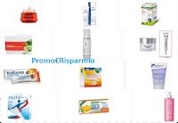 Logo Buoni sconto in Farmacia: 71 coupon da stampare (Lierac, Voltaren, Malox,integratori e molto altro)