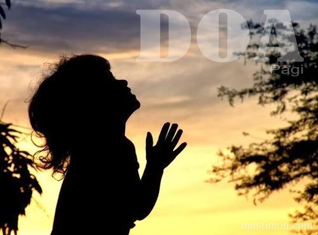 Contoh Doa pagi Rohani Kristen yang baik supaya Tuhan mendengar Doa kita
