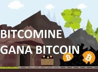 Ganacias en Bitcoin con Bitcomine, donde puedes minar en red, referir, ver anuncios y cobrar tu dinero desde el monedero en bitcoin que poseas.
