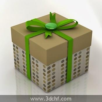 free 3d model gift box