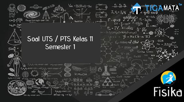 Contoh Soal UTS/PTS Fisika Kelas 11 Semester 1 Kurikulum 2013 dan Jawabannya