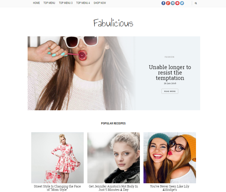 Fabulicious Fashion Blog
