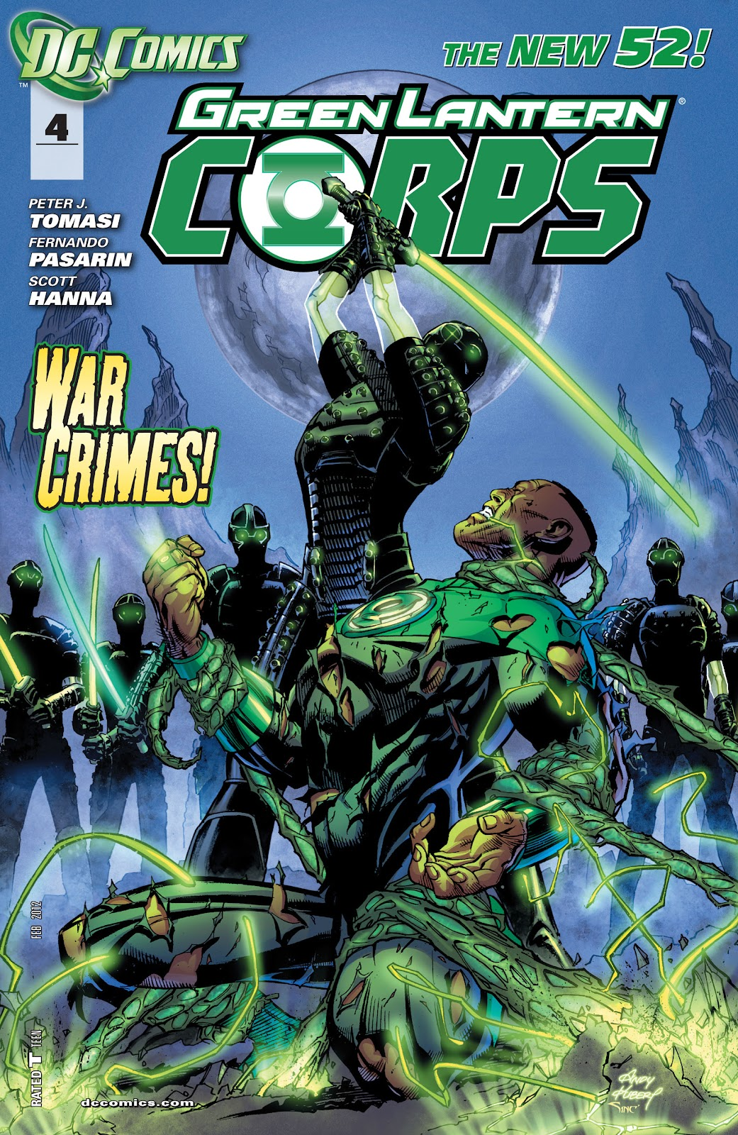 Green Lantern Corps issue 04 - Page 1