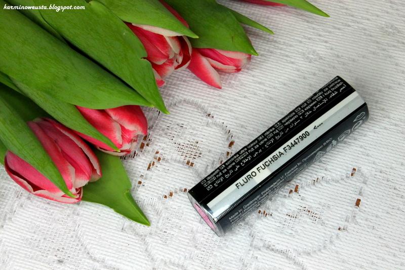 szminka Avon Ultra Colour Fluoro Fuchsia