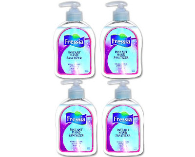 Fressia Anti-Germ Disinfectant Gel - Alcohol Based Liquid Hand Sanitizer - Kills Germs without Water