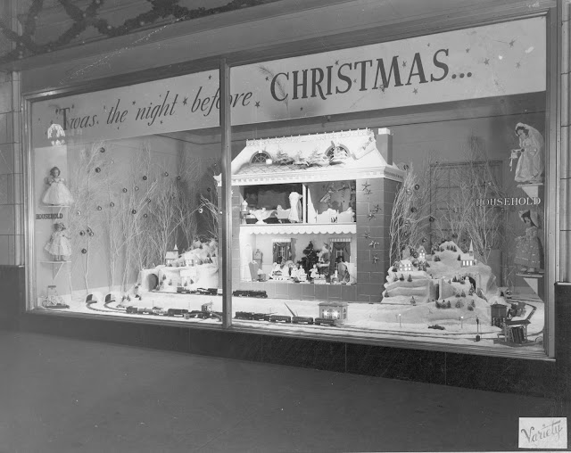 Twas the Night Before Christmas Vintage Store Display
