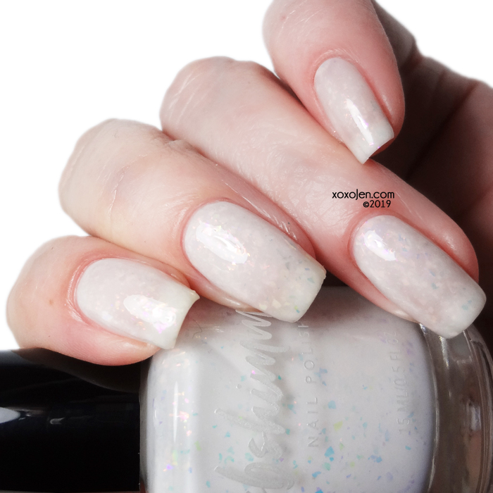 xoxoJen's swatch of kbshimmer License To Chill