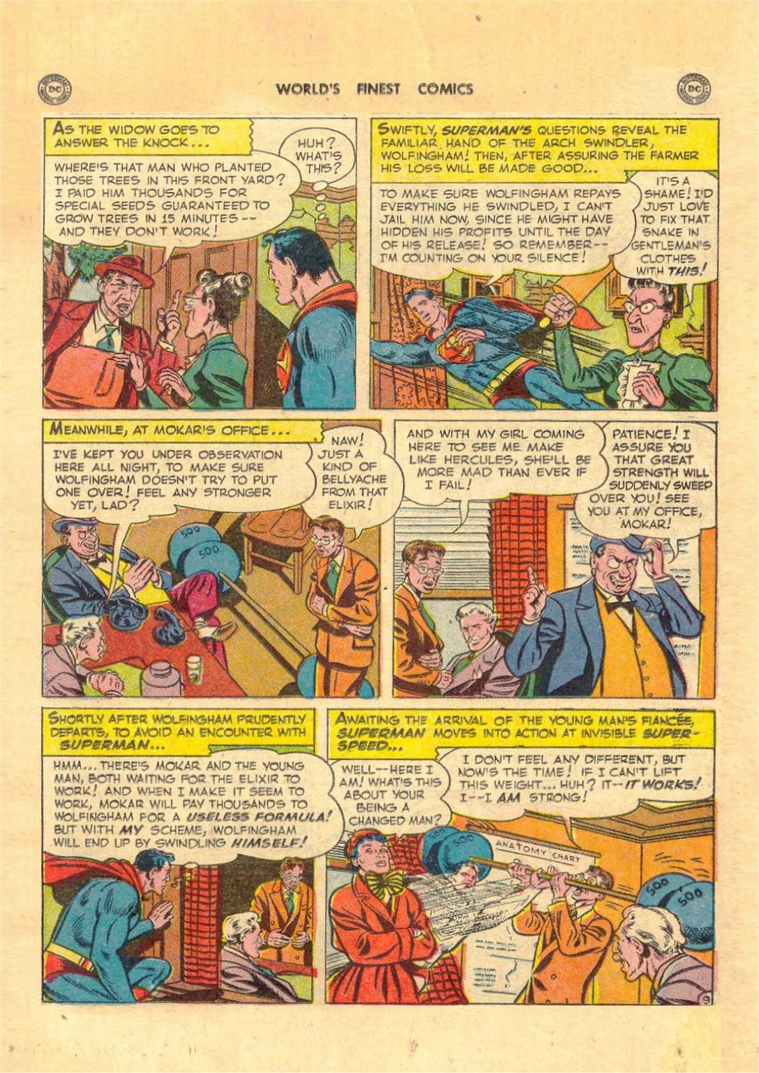 Read online World's Finest Comics comic -  Issue #52 - 11