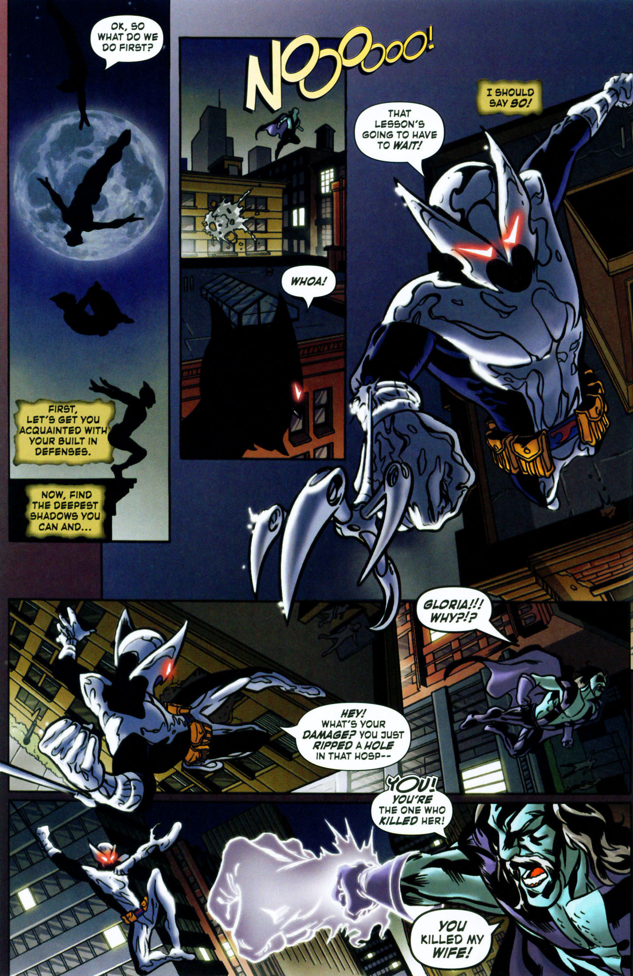 Read online ShadowHawk (2005) comic -  Issue #1 - 6
