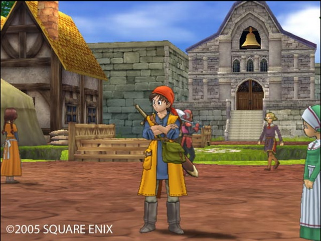 Dragon Quest VIII Journey of the Cursed King PS2 GAME ISO Gameplay