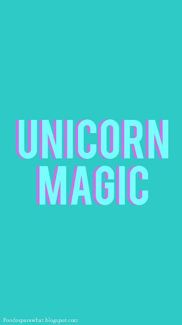 Fondo de Pantalla de Unicornio