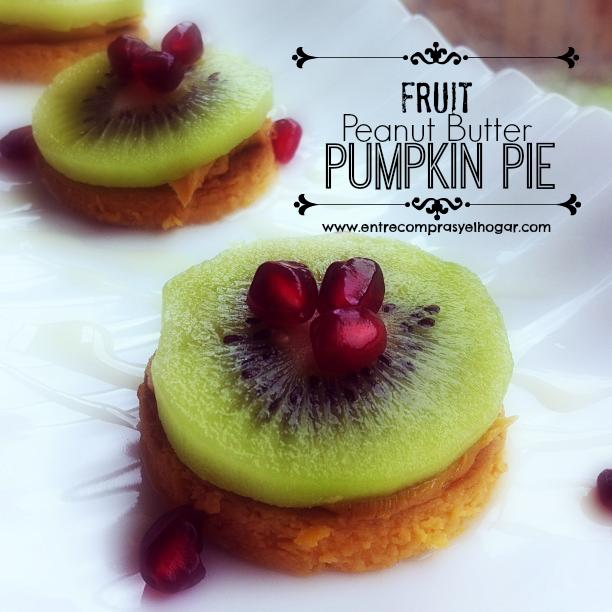 Fruit Peanut Butter Pumpkin Pie