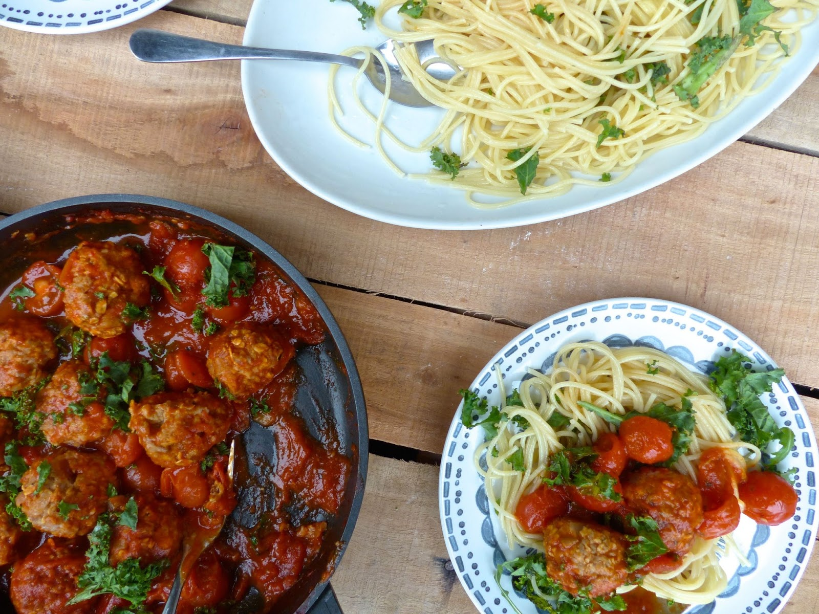 How To Make Spaghetti and Stoaty Oaty Meatballs