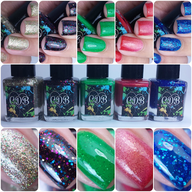 CDB Lacquer - Holiday 2015 Collection