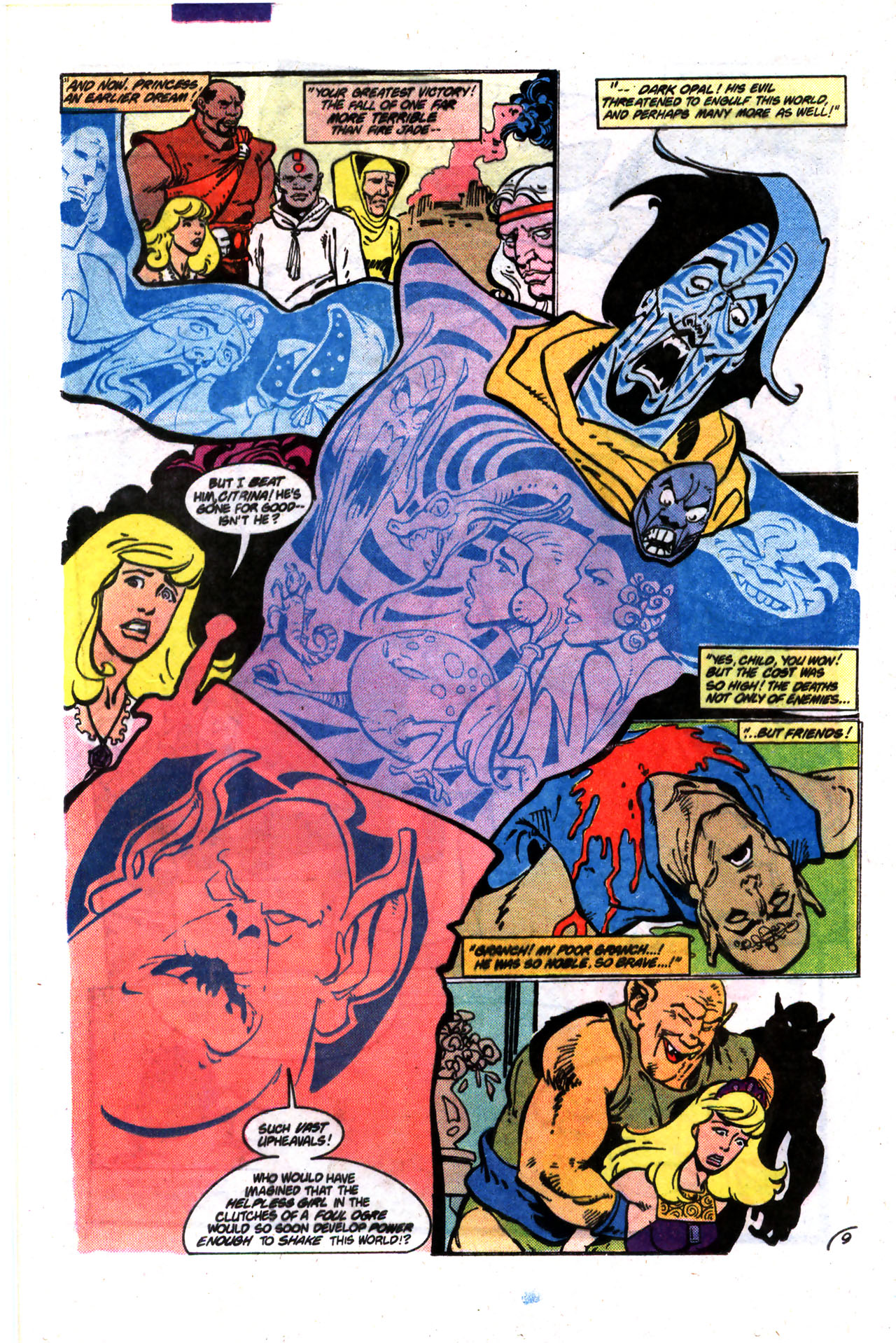Read online Amethyst (1985) comic -  Issue #9 - 9