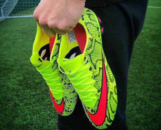 b1293c98fb0d Nike Mercurial Vapor X Snakeskin Boots by Graffia Studio - Footy ...