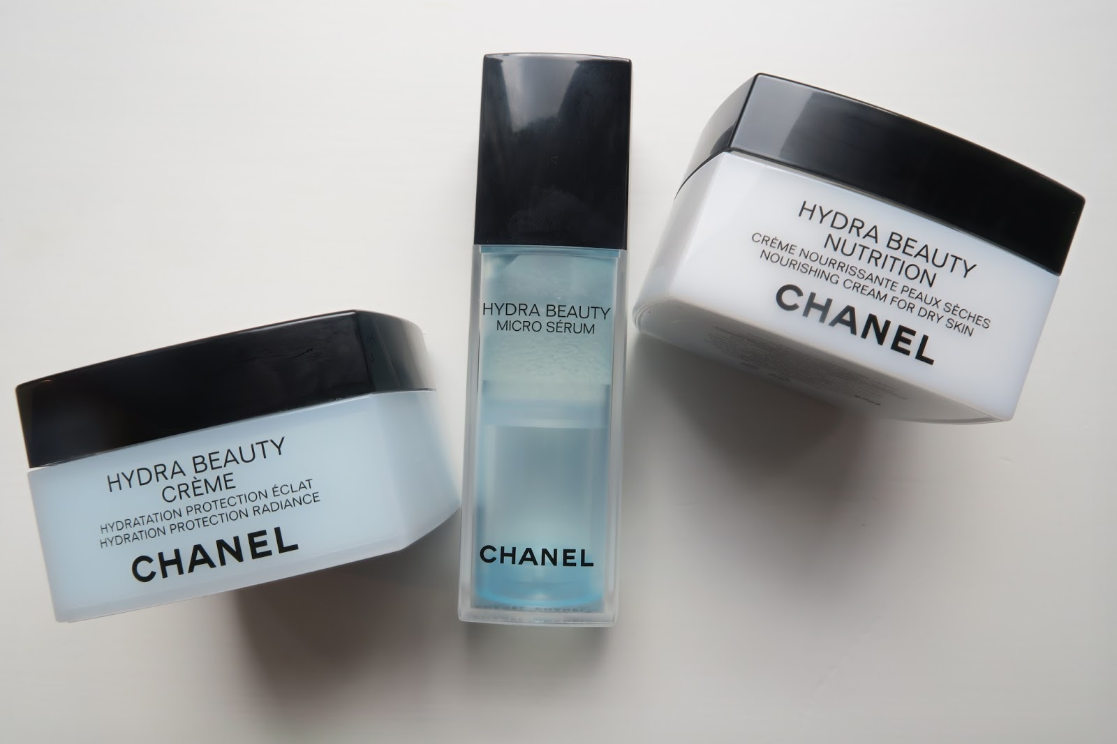 Dehydration week - Chanel Hydra Beauty Range - Caroline Hirons