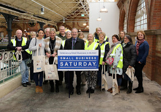 Mike Cherry FSB Small Business Saturday in Burton