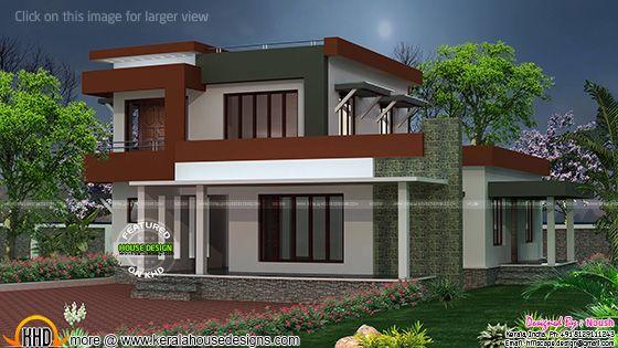 2250 sq-ft box type house