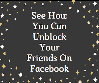 See how you can unblock your friends on Facebook