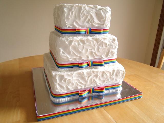 Rainbow Cake Recipe Joy Of Baking: Holly Muffin: Rainbow Reception Cake