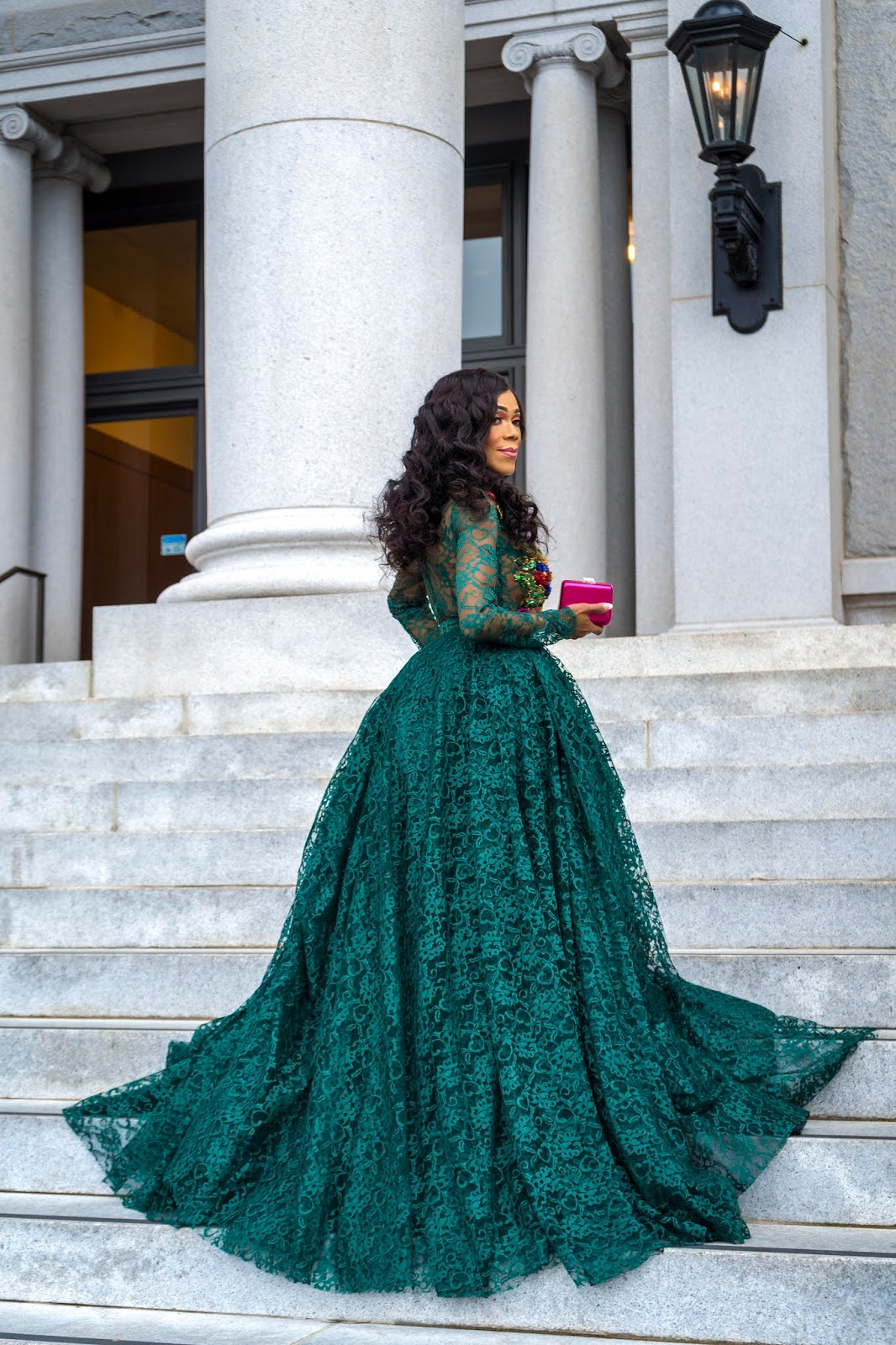 The Holiday Ball Gown