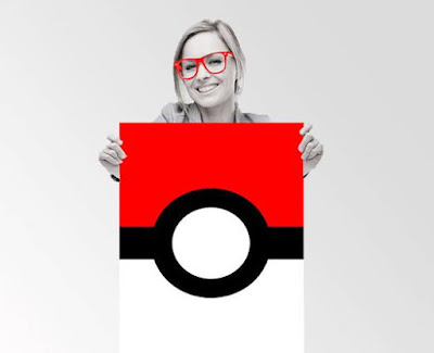 Pokeball Typography Quote Wall Art Poster