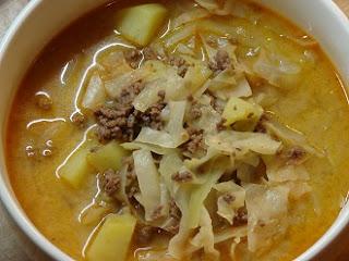 рецепт быстрого сырного супа с фаршем