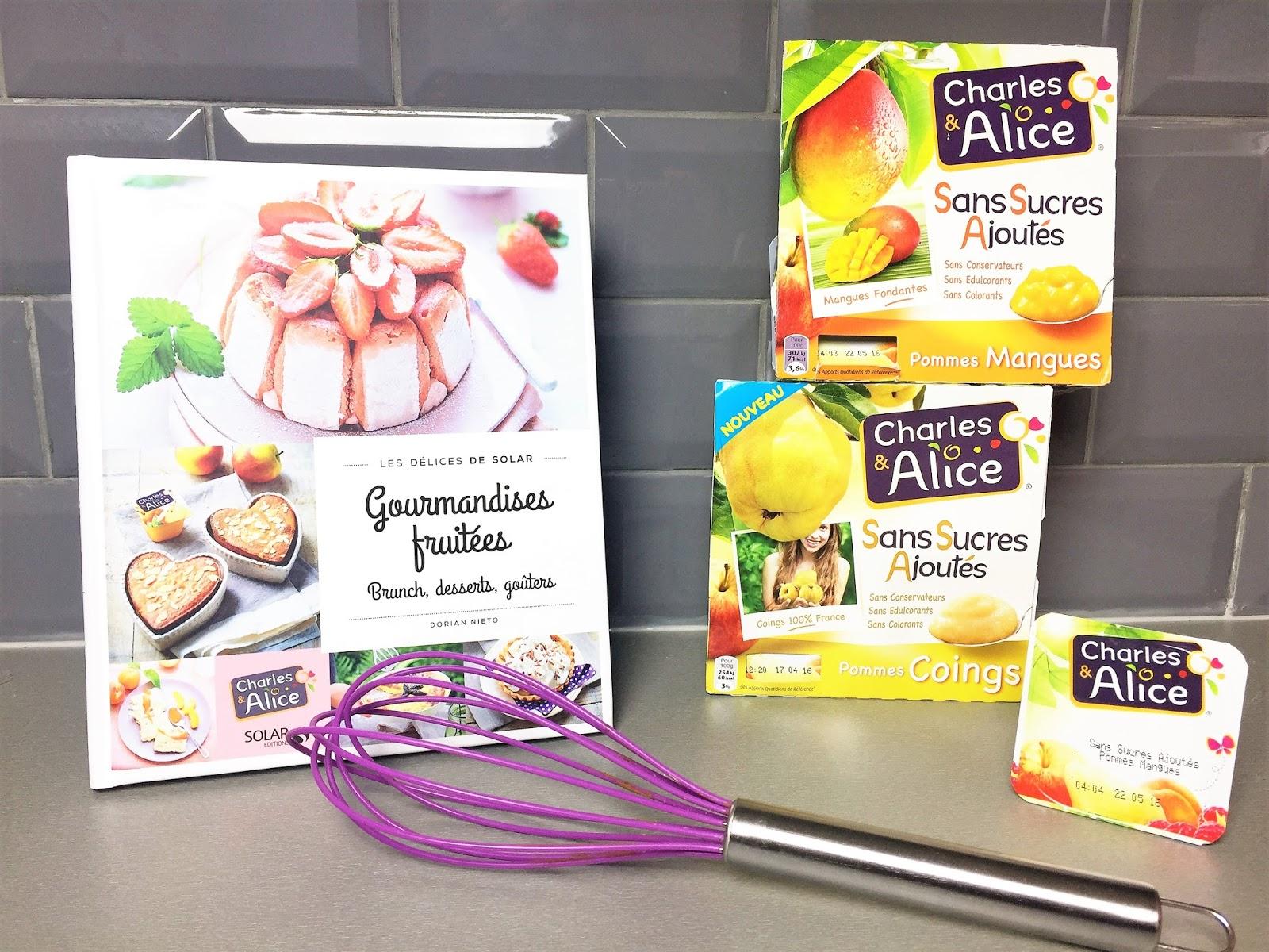 Charles et alice Dorian Nieto recette compote chocolat mangue pomme cuisine recette