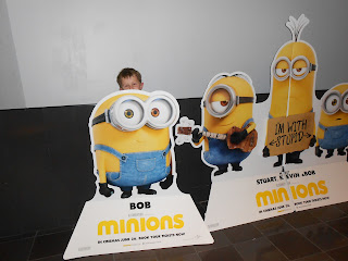 bob minions cinema advert vue gunwharf