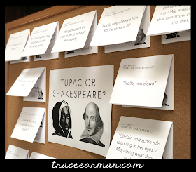 Engage students with interactive poetry bulletin boards  - www.traceeorman.com