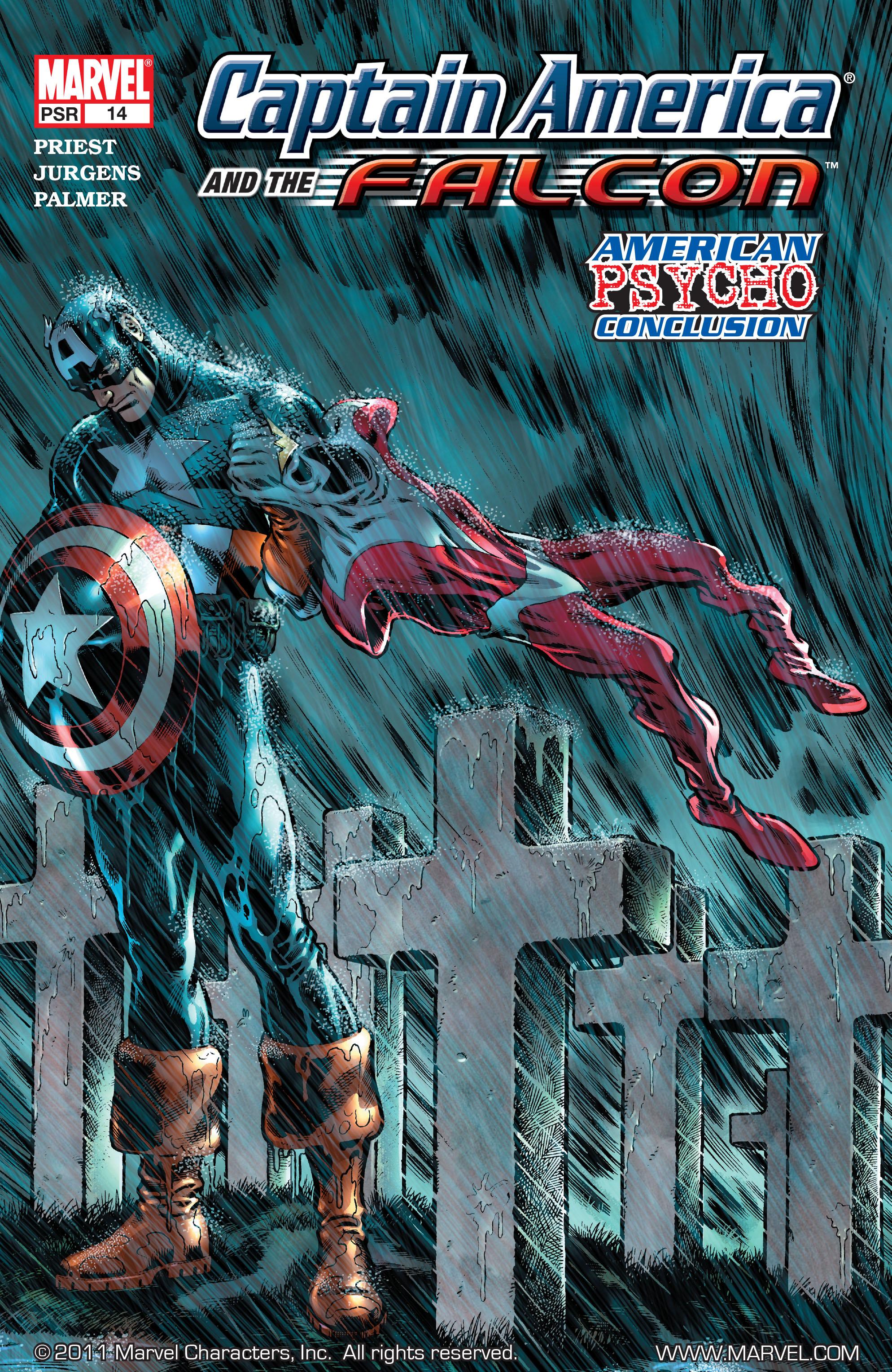 Captain America & the Falcon 14 Page 1
