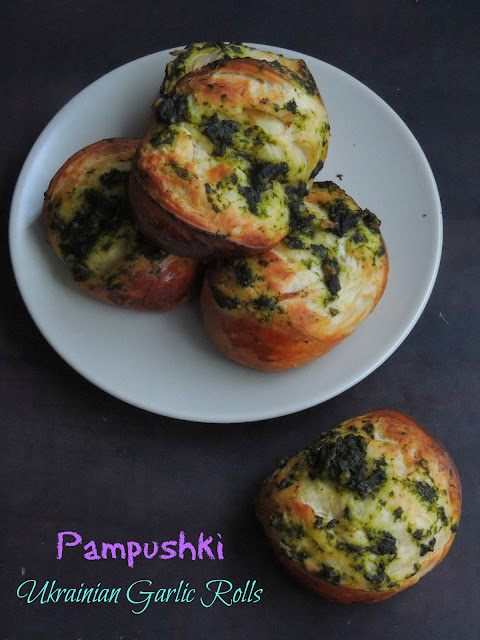 Ukrainian Dinner Rolls, Pampushki