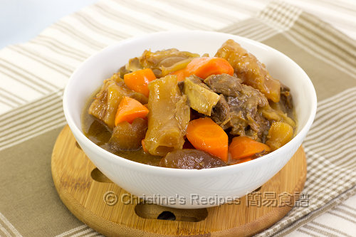 南乳燜牛筋牛腩 Beef Tendon and Brisket Stew02