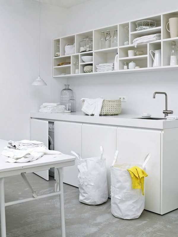 Creative Laundry Rooms Decor Ideas - Room Organization Ideas 4