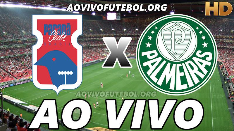 Paraná x Palmeiras Ao Vivo na TV Online